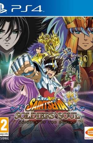 Saint Seiya Soldiers Soul PS4 Portada
