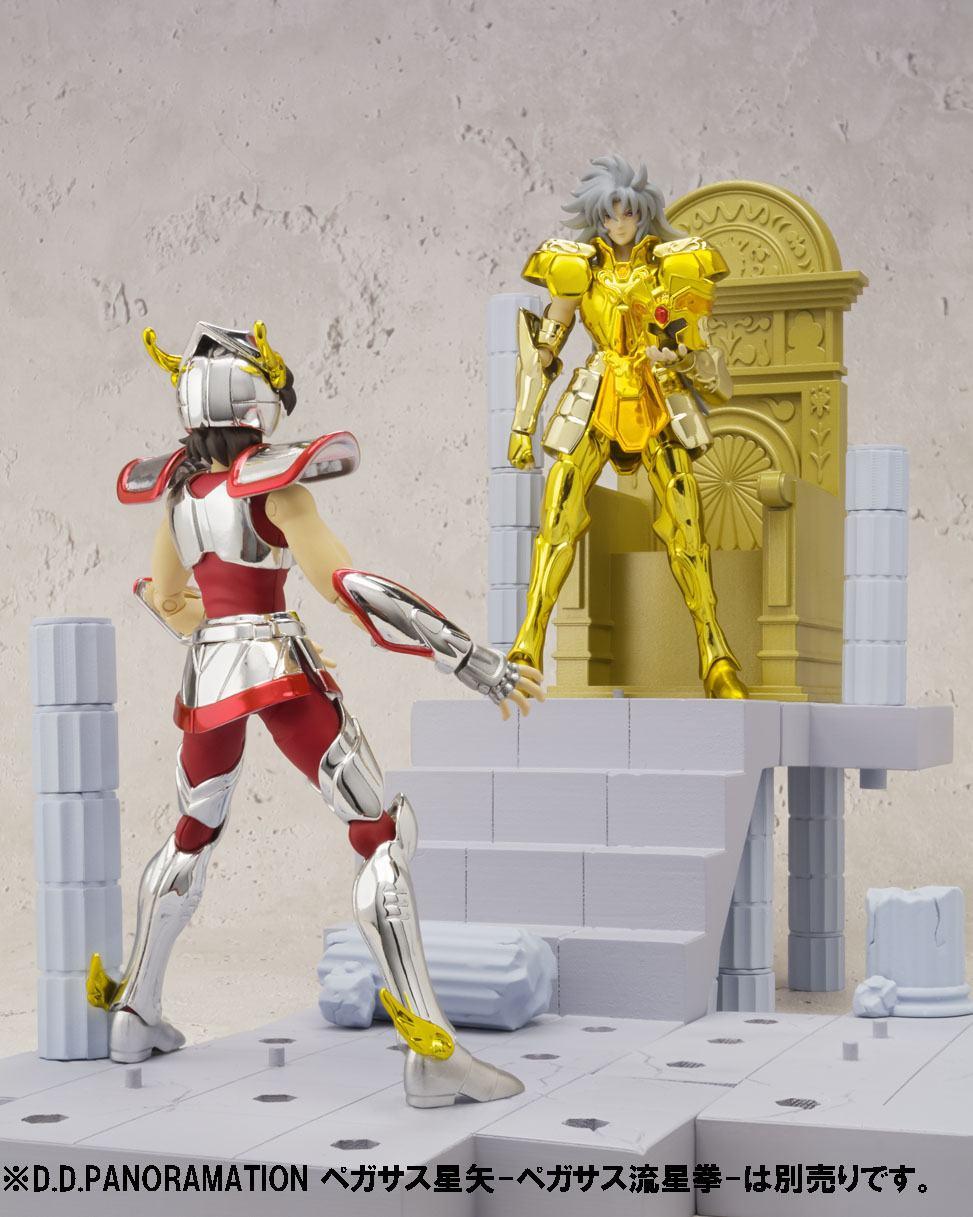 Saint Seiya Soul of Gold Figura Saga de Geminis Saga Camara del Patriarca 06