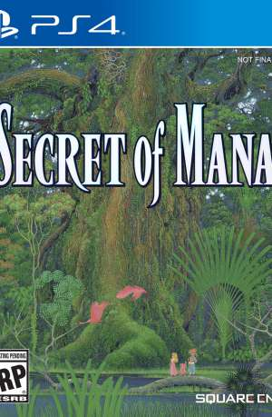 Secret of Mana PS4 Portada