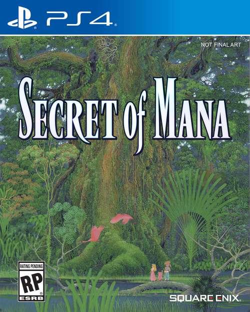 Secret of Mana PS4 Portada