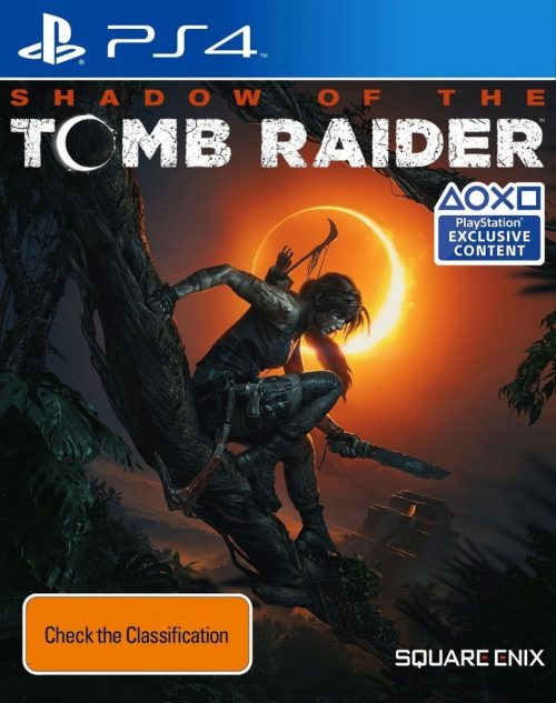 Shadow of the Tomb Raider PS4 Portada