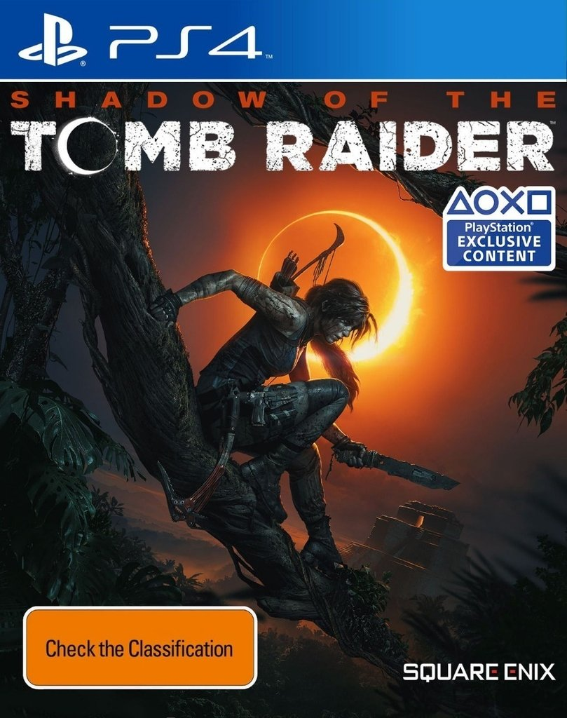 Shadow of the Tomb Raider PS4 Portada