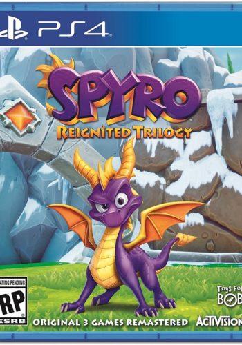 Spyro Reignited Trilogy PS4 Portada