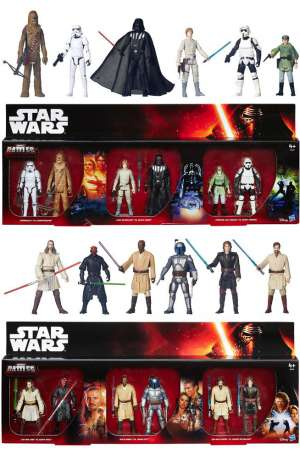 Star Wars Battle Packs de 6 Figuras Epic Battles 2015 Exclusive 01