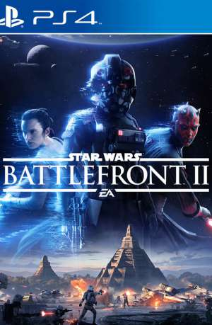 Star Wars Battlefront II PS4 Portada