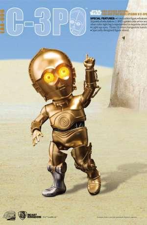 Star Wars Egg Attack Figura C-3PO Episodio V 01