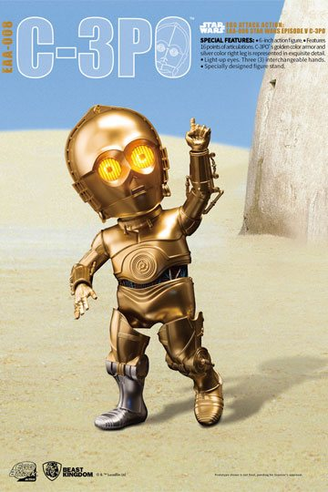 Star Wars Egg Attack Figura C-3PO Episodio V 01