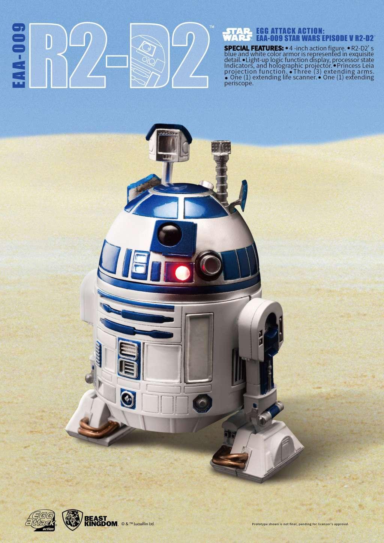 Star Wars Egg Attack Figura R2-D2 Episodio V 02