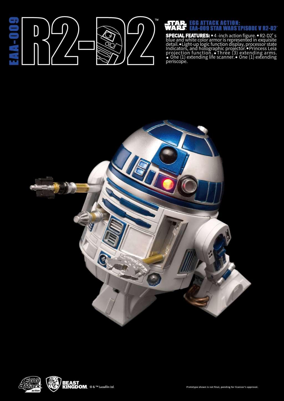 Star Wars Egg Attack Figura R2-D2 Episodio V 03