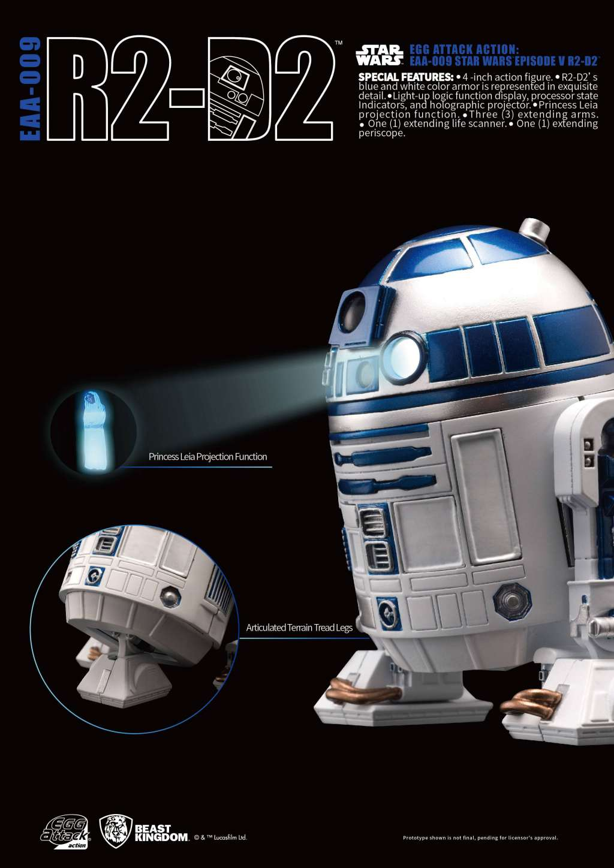 Star Wars Egg Attack Figura R2-D2 Episodio V 04