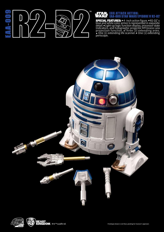 Star Wars Egg Attack Figura R2-D2 Episodio V 05
