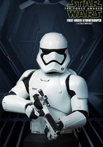 Star Wars Episodio VII Busto First Order Stormtrooper Deluxe MB 01