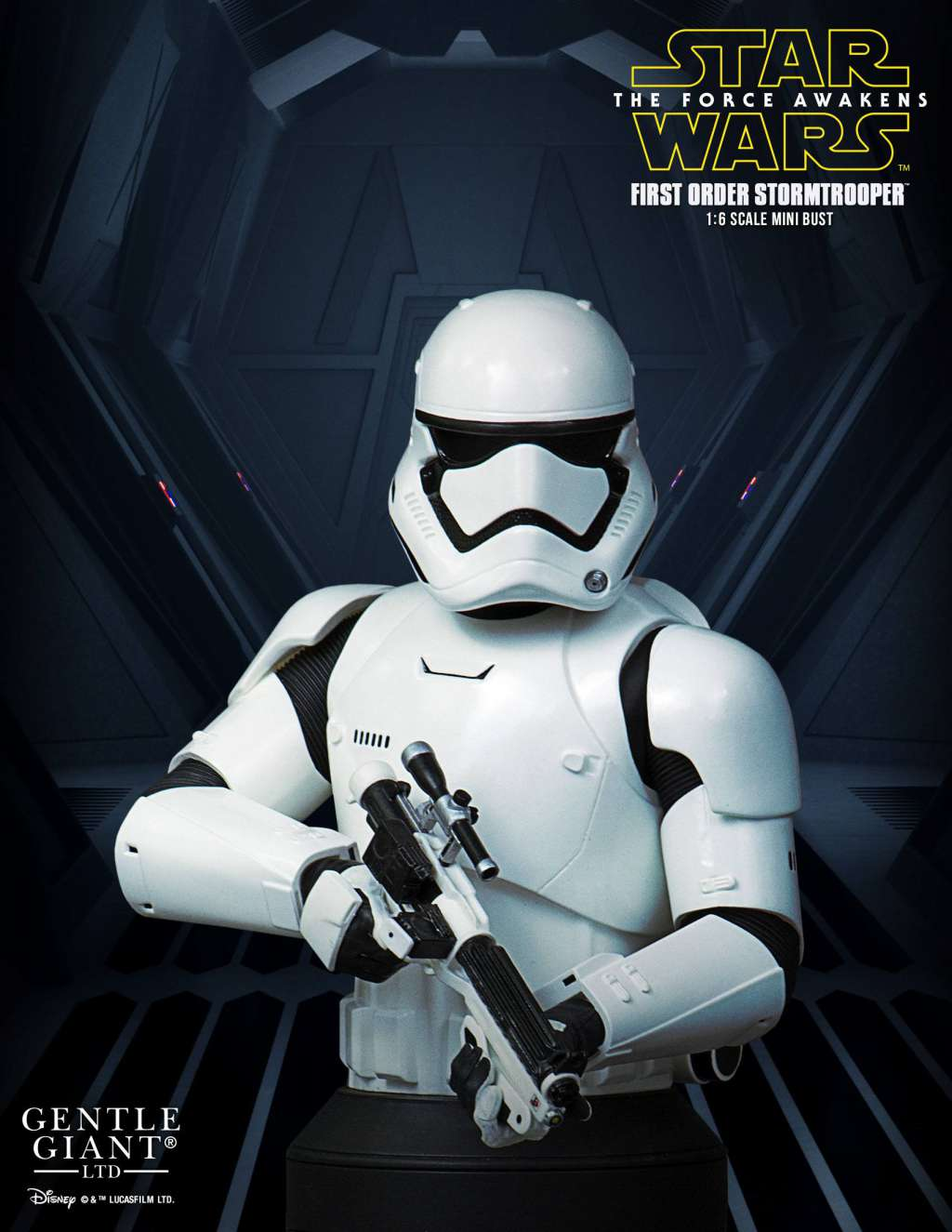 Star Wars Episodio VII Busto First Order Stormtrooper Deluxe MB 02
