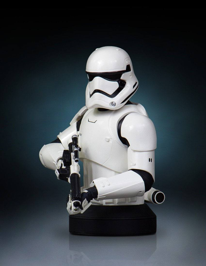 Star Wars Episodio VII Busto First Order Stormtrooper Deluxe MB 03