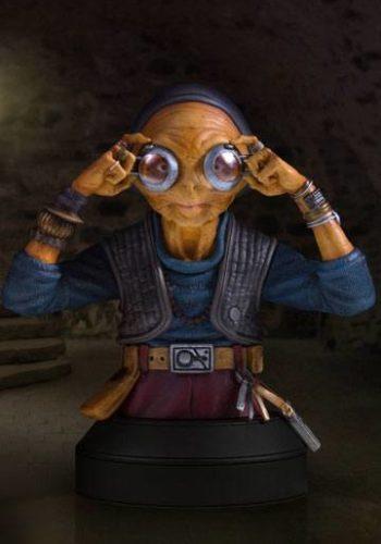 Star Wars Episodio VII Busto Maz Kanata 01