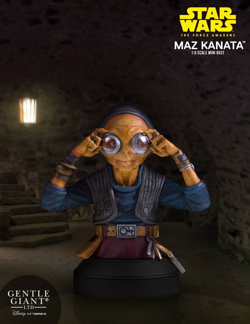 Star Wars Episodio VII Busto Maz Kanata 02