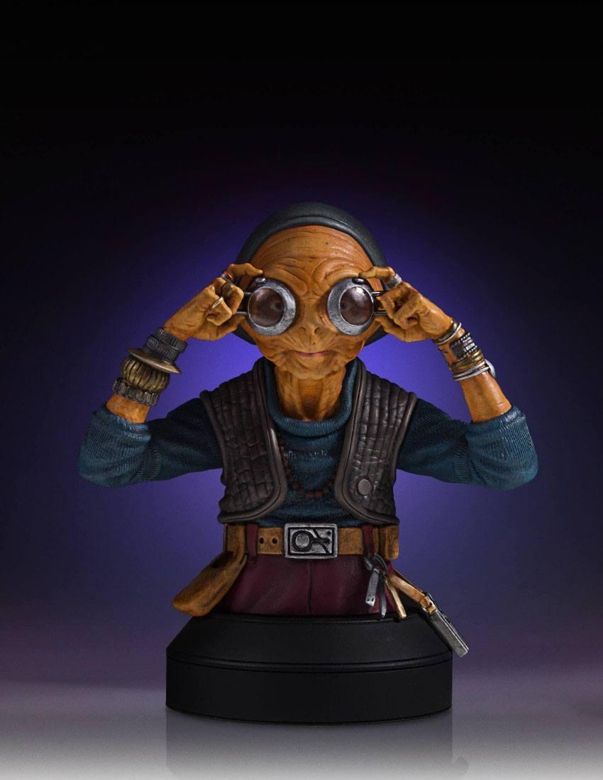 Star Wars Episodio VII Busto Maz Kanata 03