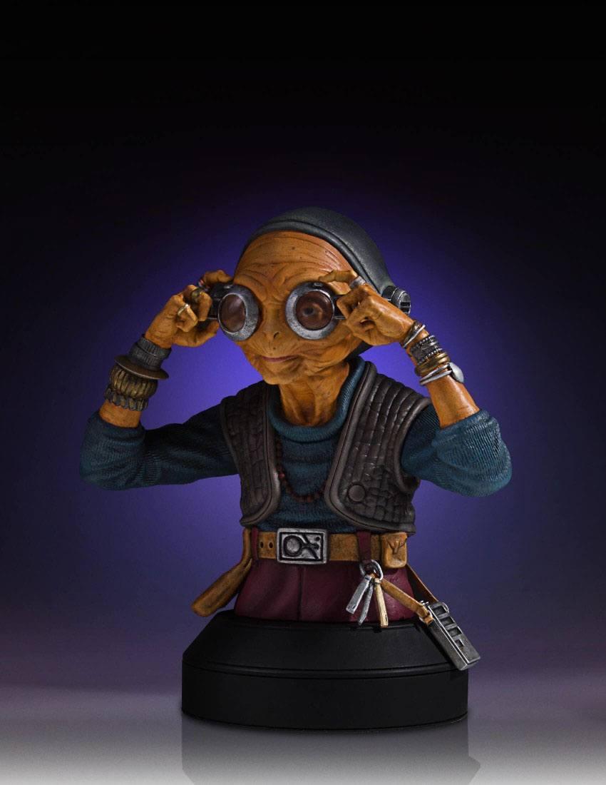 Star Wars Episodio VII Busto Maz Kanata 04