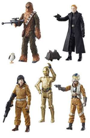 Star Wars Episodio VIII Force Link Figuras 2017 Assortment 2 Wave 1 01