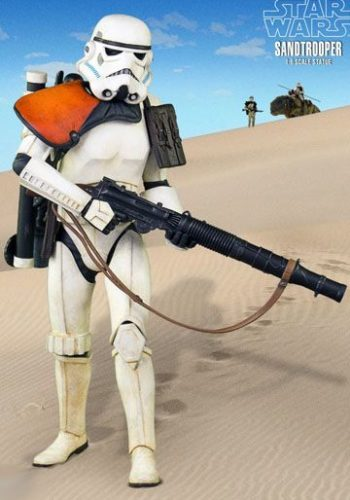 Star Wars Estatua 1-6 Sandtrooper portada