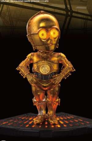Star Wars Figura con sonido y luz Egg Attack C-3PO Episodio V 01