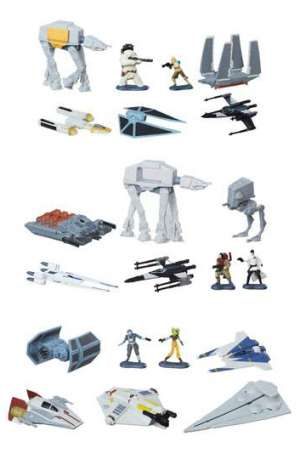 Star Wars Packs de 5 Vehículos Micro Machines 2016 Wave 2 Surtido 12 01