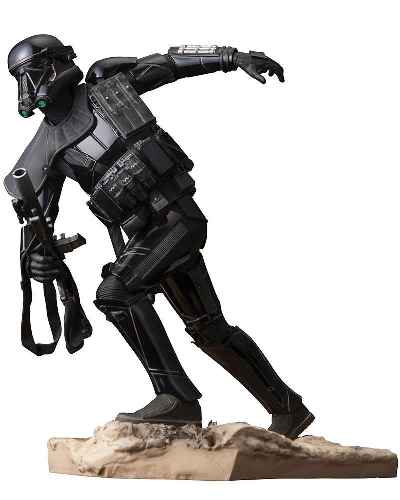 Star Wars Rogue One Figura ARTFX Death Trooper 02