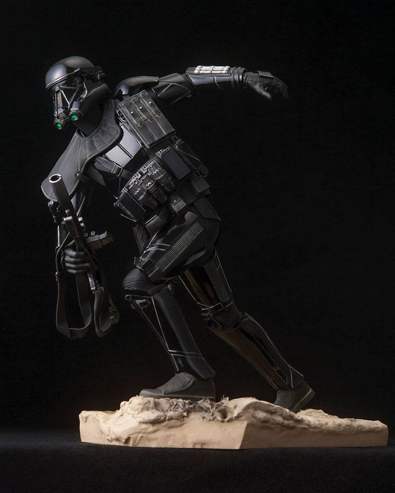 Star Wars Rogue One Figura ARTFX Death Trooper 03