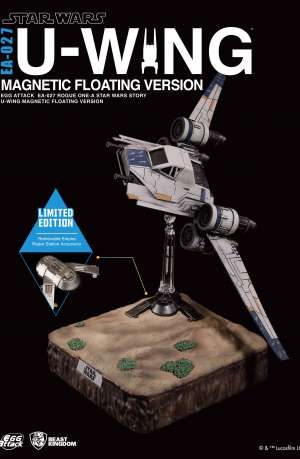 Star Wars Rogue One Figuras con luz Egg Attack U-Wing Floating 01