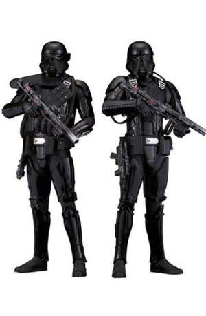 Star Wars Rogue One Pack de 2 Figuras ARTFX Death Trooper 01