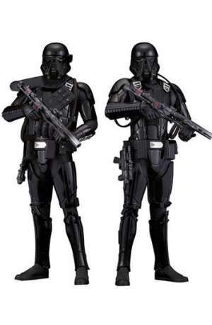 Star Wars Rogue One Pack de 2 Figuras ARTFX Death Trooper 01