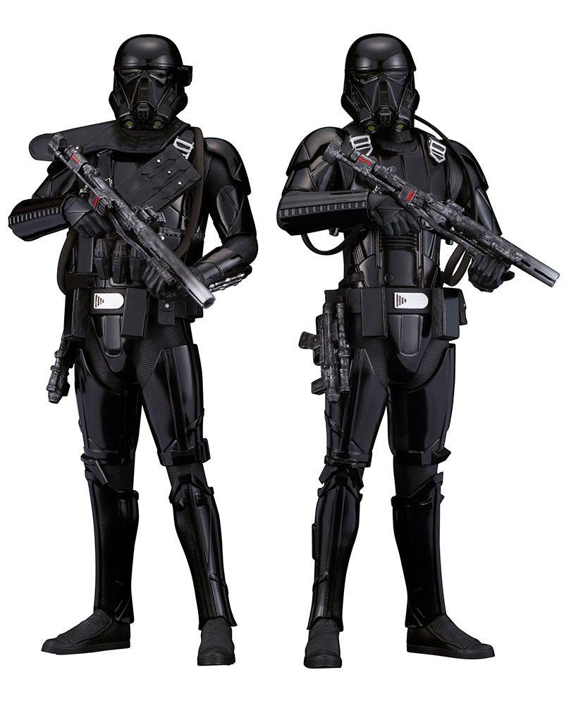 Star Wars Rogue One Pack de 2 Figuras ARTFX Death Trooper 02