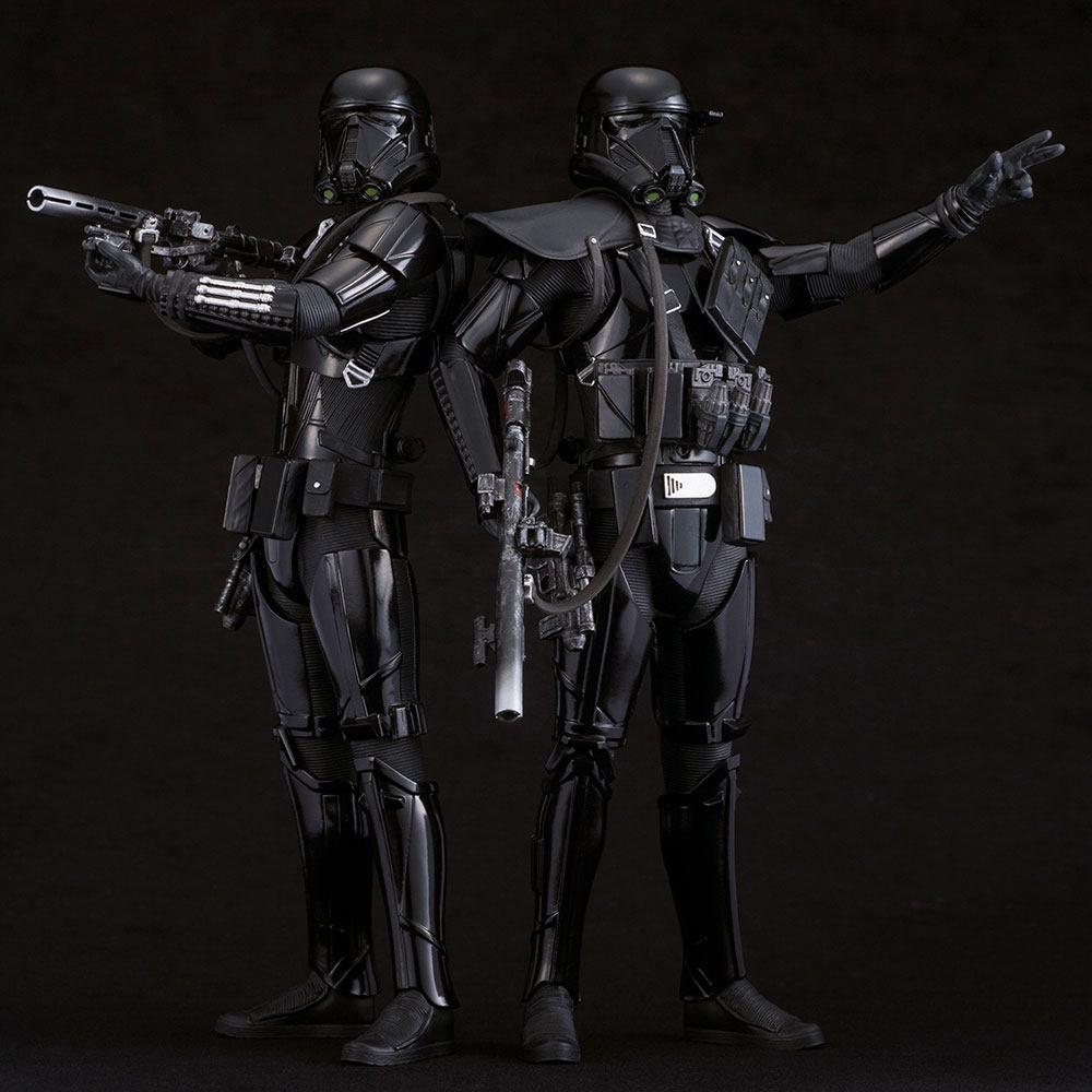 Star Wars Rogue One Pack de 2 Figuras ARTFX Death Trooper 03