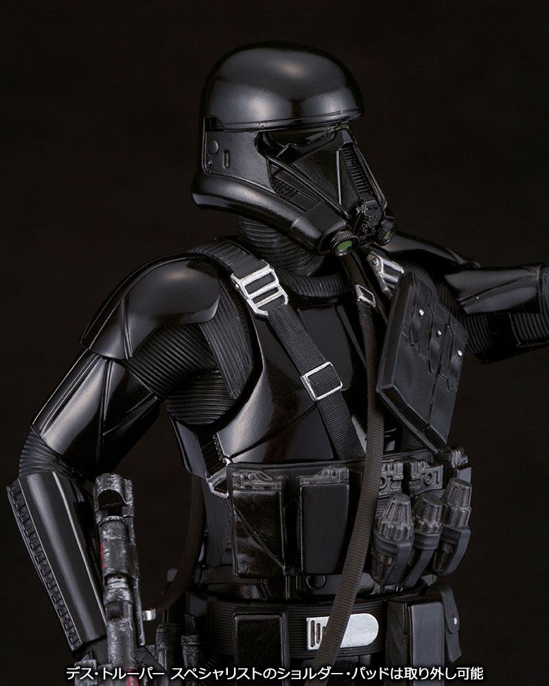 Star Wars Rogue One Pack de 2 Figuras ARTFX Death Trooper 04
