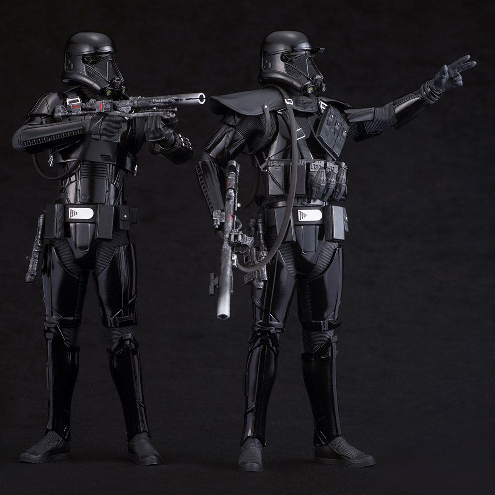 Star Wars Rogue One Pack de 2 Figuras ARTFX Death Trooper 07
