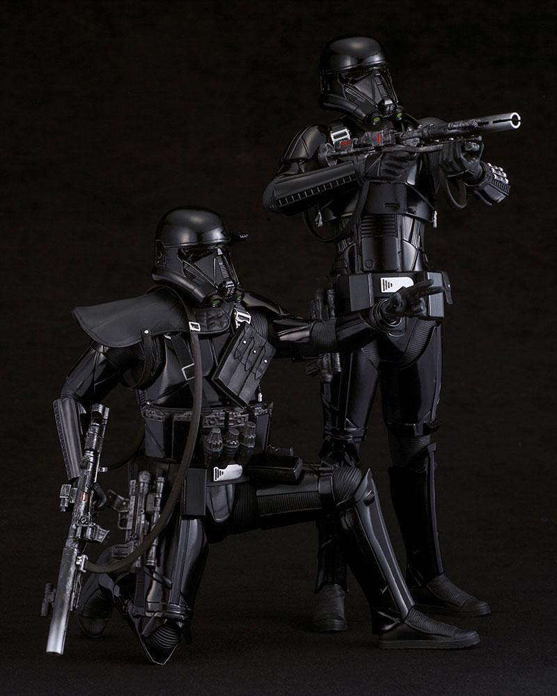 Star Wars Rogue One Pack de 2 Figuras ARTFX Death Trooper 09