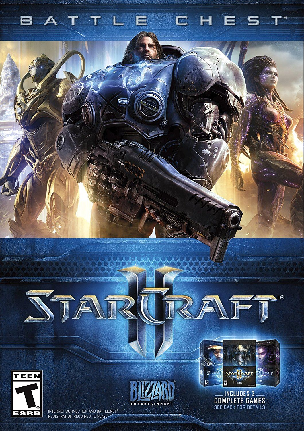 Starcraft 2 Battle Chest Trilogy PC Portada