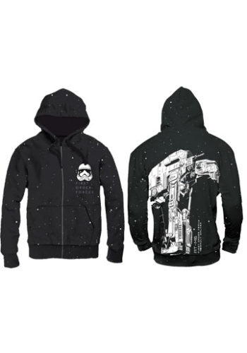 Sudadera con Capucha Star Wars Episode VIII AT-M6 Trooper Space