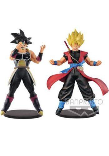 Super Dragon Ball Heroes Figuras DXF Masked Saiyan y Son Goku Xeno 01