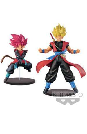 Super Dragon Ball Heroes Figuras DXF Saiyan Avatar y Son Goku Xeno 01