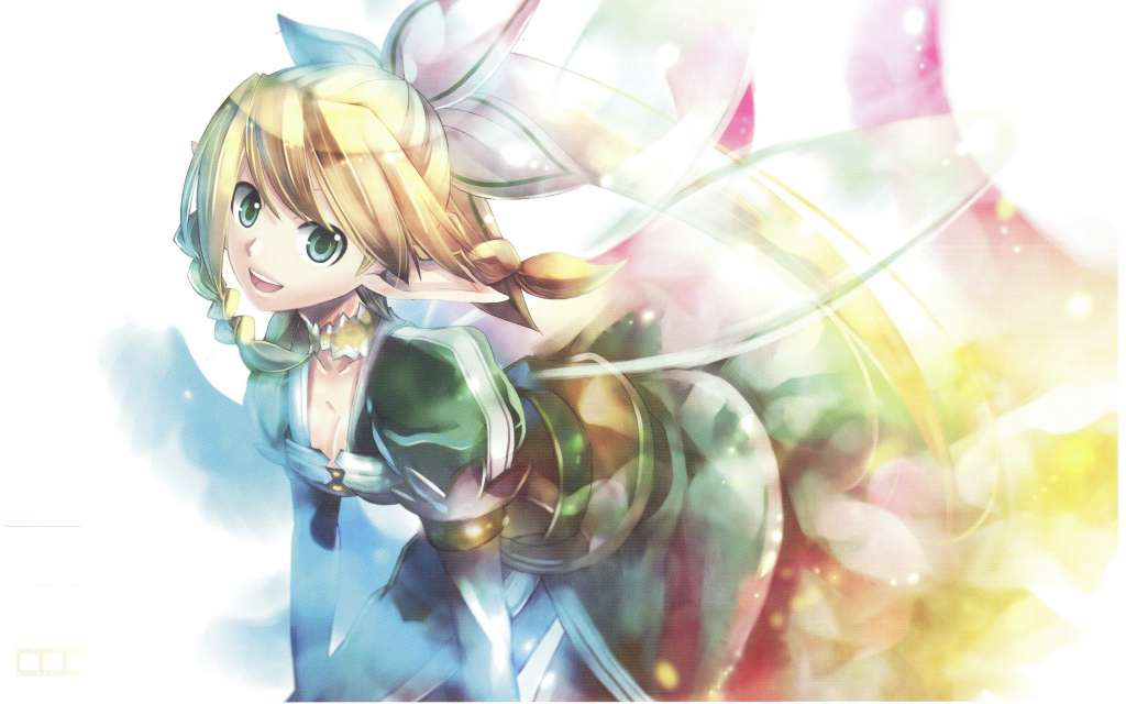 Wallpaper Sword Art Online Leafa Fantasia
