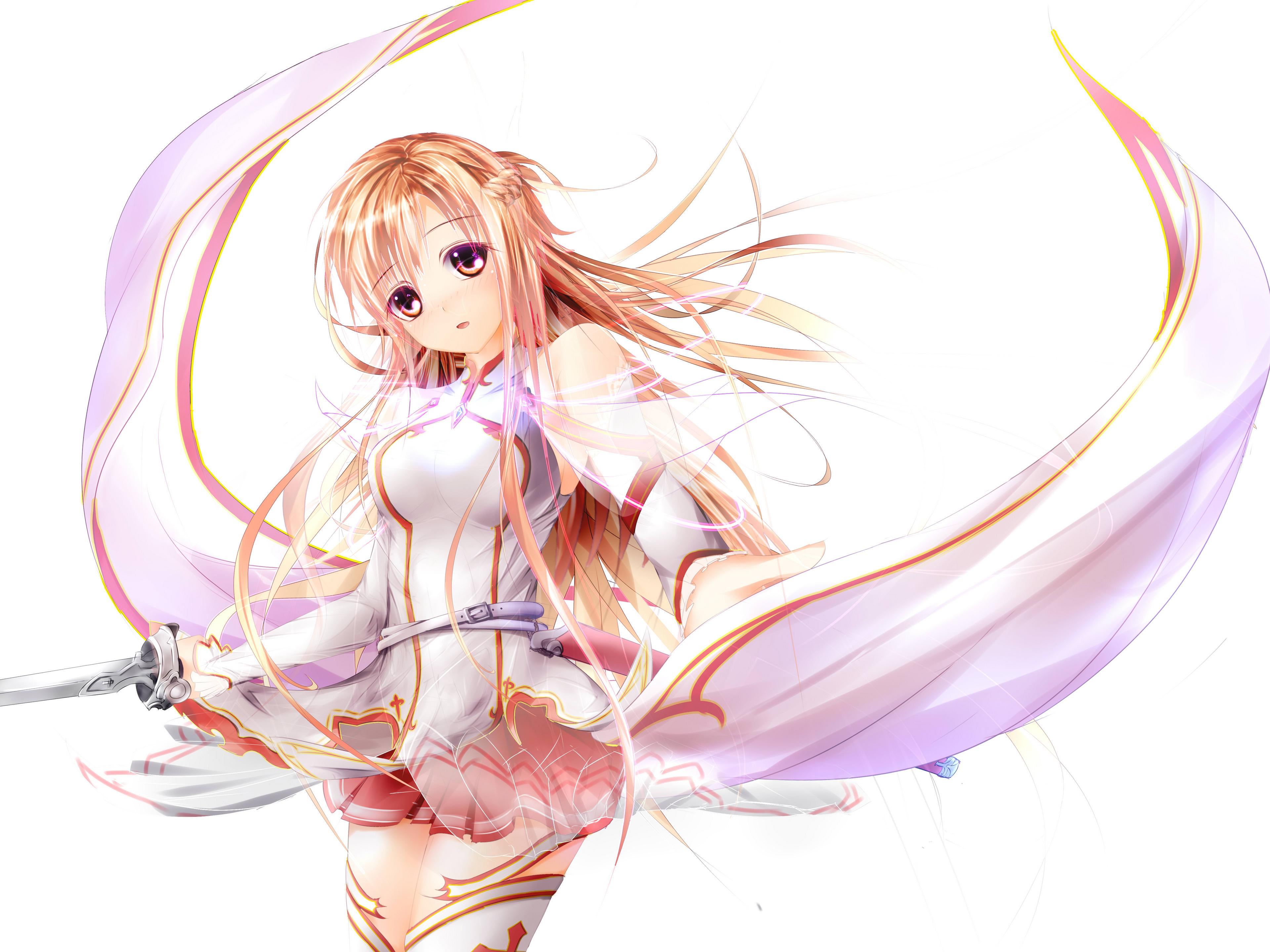 Wallpaper Sword Art Online Asuna Arte