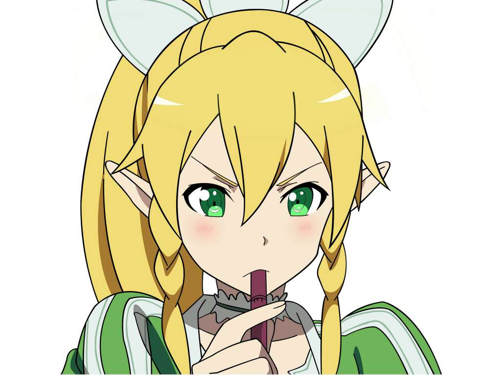 Wallpaper Sword Art Online Leafa 2