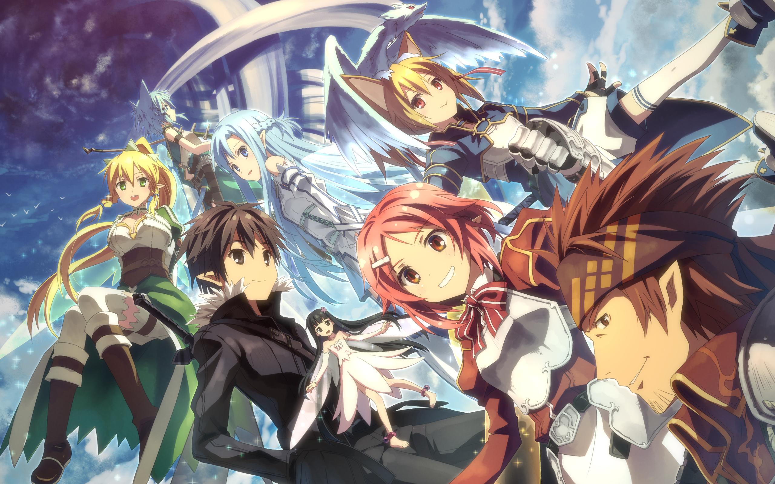 Wallpaper Sword Art Online II Grupo 3