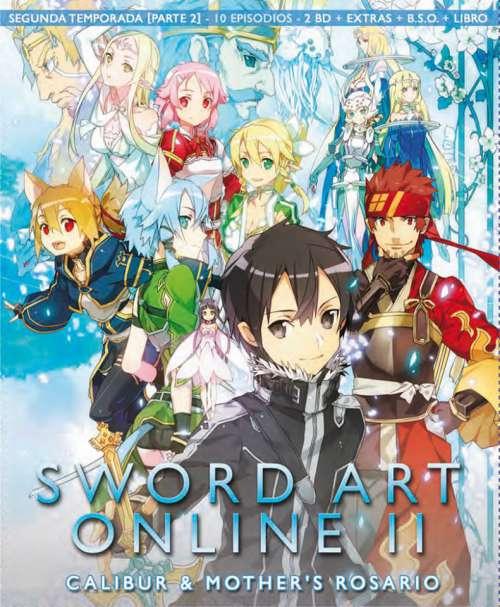 Sword Art Online II Blu Ray parte 2