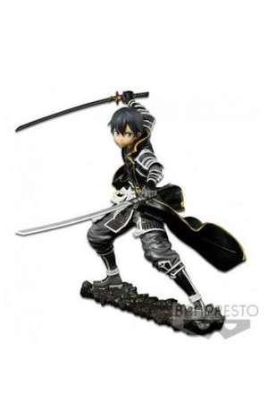 Sword Art Online Code Register Figura EXQ Gokai Kirito 16 cm