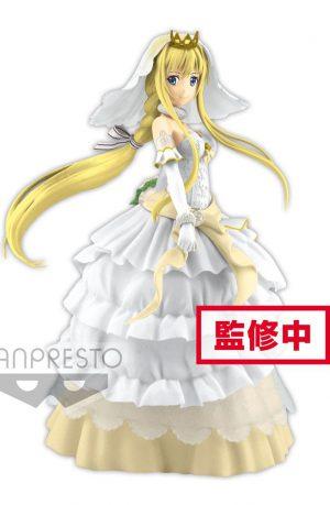 Sword Art Online Code Register Figura PVC EXQ Wedding Alice 21 cm