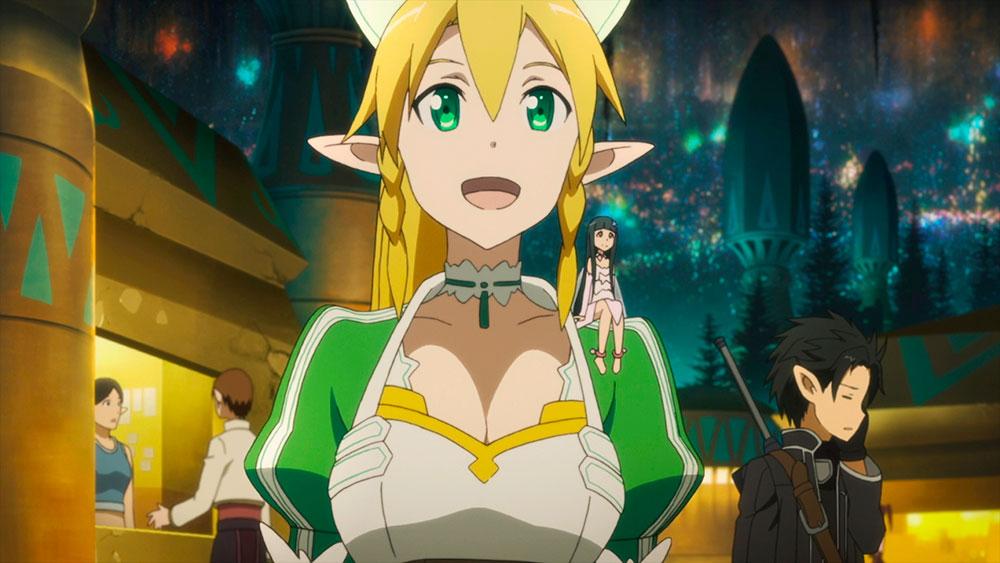 Sword Art Online Ficha Tecnica Leafa
