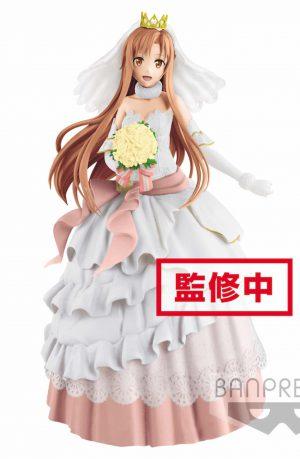 Sword Art Online Figura EXQ Wedding Asuna 23 cm