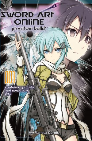 Sword Art Online Phantom Bullet 1 Manga